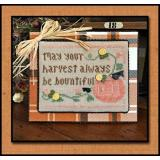 Little House Needleworks Stickvorlage Bountiful Harvest