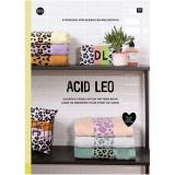 Rico Design Band 173 - Stickbuch Acid Leo (Frottee)