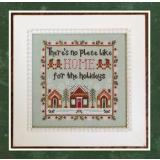 Country Cottage Needleworks Stickvorlage Home For The Holidays