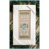 Country Cottage Needleworks Stickvorlage Sampler Of The Month January