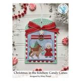 Luminous Fiber Arts Stickvorlage Christmas In The Kitchen - Candy Canes