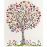 Bothy Threads Stickpackung XKA2 Love Tree 24x30