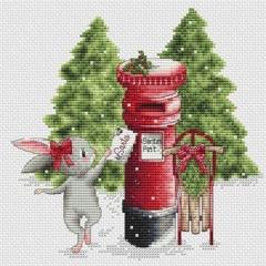 Les Petites Croix De Lucie Stickvorlage Letter To Santa