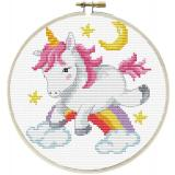 Needleart World Stickpackung 140-056 Einhorn 15x15