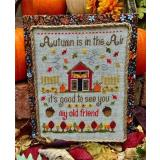Stickvorlage Pickle Barrel Designs Autumns Arrival
