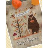 Romys Creations Stickvorlage Welcome Fall