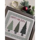 Annalee Waite Designs Stickvorlage Evergreen Holiday