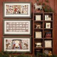 Prairie Schooler Stickvorlage Christmas Traditions