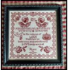 Twin Peak Primitives Stickvorlage Wisdom Of Love