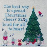 Stickvorlage Sister Lou Stitches Christmas Cheer