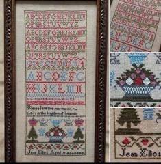 Victorian Rose Needlearts Stickvorlage Jean Elliot
