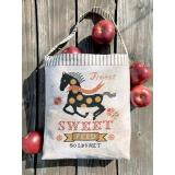 Carriage House Samplings Stickvorlage Horse Feed Sack