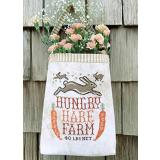 Stickvorlage Carriage House Samplings Hungry Hare Feed Sack