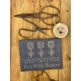 Stickvorlage Stacy Nash Primitives Run With Scissors Sewing Pouch Pattern