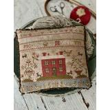 Stickvorlage Stacy Nash Primitives Rose Cottage Sampler Pinkeep