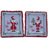 Praiseworthy Stitches Stickvorlage Mr And Mrs Claus Ornaments