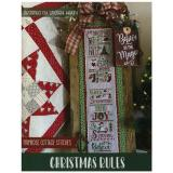 Primrose Cottage Stitches Stickvorlage Christmas Rules