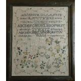 Shakespeares Peddler Stickvorlage Ragamuffin 2 Quaker Sampler