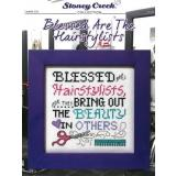 Stoney Creek Stickvorlage Blessed Are The Hairstylists