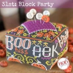 Stickvorlage Hands On Design 31st Block Party