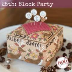 Stickvorlage Hands On Design 25st Block Party