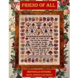 Monticello Stitches Stickvorlage Friend Of All