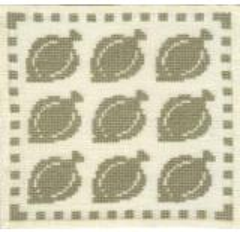Stickpackung Haandarbejdets Fremme 17-9810 Schollen 15x15