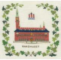 Stickpackung Haandarbejdets Fremme 17-5133 Rathaus Kopenhagen 15x15