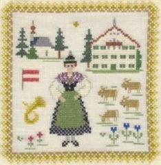 Stickpackung Haandarbejdets Fremme 17-3019,03 Österreich 18x18