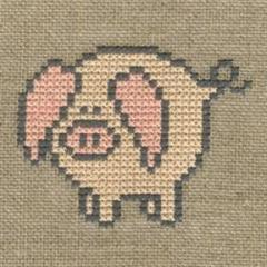 Stickpackung Haandarbejdets Fremme 30-9972 Schwein 12x12