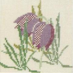 Stickpackung Haandarbejdets Fremme 30-5799 Schachblume 13x13