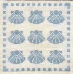 Stickpackung Haandarbejdets Fremme 17-9816 Muscheln 15x15