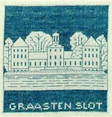 Stickpackung Haandarbejdets Fremme 17-4710 Schloss Graasten 15x15