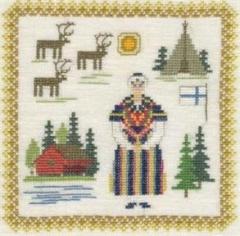 Stickpackung Haandarbejdets Fremme 17-3019,06 Finnland 18x18