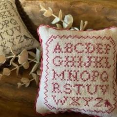 Stickvorlage Frog Cottage Designs Mini Alphabet Sampler