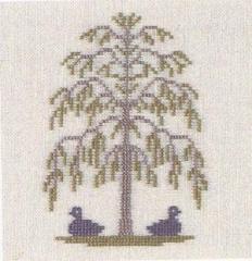 Stickpackung Haandarbejdets Fremme 30-2995 Enten unter dem Baum 15x15