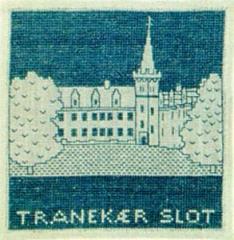 Stickpackung Haandarbejdets Fremme 17-4707 Schloss Tranekær 15x15