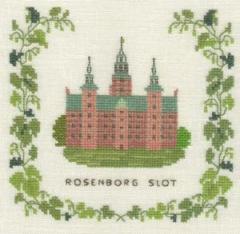 Stickpackung Haandarbejdets Fremme 17-5136,2 Schloss Rosenborg Kopenhagen 15x15