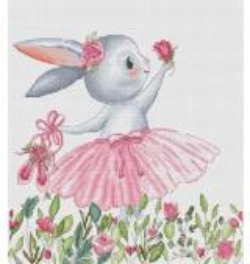 Stickvorlage Les Petites Croix De Bunny In Wildflowers