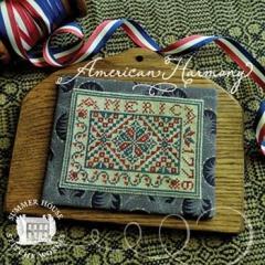 Stickvorlage Summer House Stitche Workes American Harmony 1