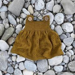 Rosy Green Wool Strickmuster Jahreszeiten-Kleidchen Rosy