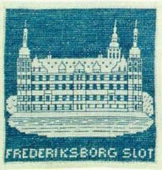 Stickpackung Haandarbejdets Fremme 17-4709 Schloss Fredriksborg 15x15