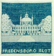 Stickpackung Haandarbejdets Fremme 17-4708 Schloss Fredensborg 15x15