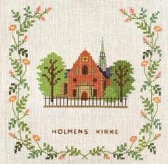 Stickpackung Haandarbejdets Fremme 17-5131 Holmens Kirche Kopenhagen 15x15