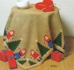 Stickpackung Haandarbejdets Fremme 29-5659 Weihnachtsbaumdecke 133x133