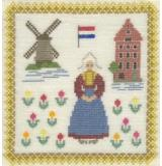 Stickpackung Haandarbejdets Fremme 17-3019,00 Niederlande 18x18