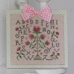 Stickvorlage Tralala ABC Aux Roses