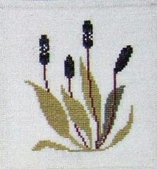 Stickpackung Haandarbejdets Fremme 17-1432,04 Wegerich 16x16