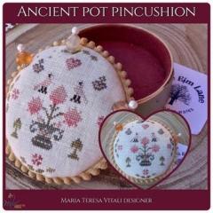 Stickvorlagen MTV Designs Ancient Pot Pincushion
