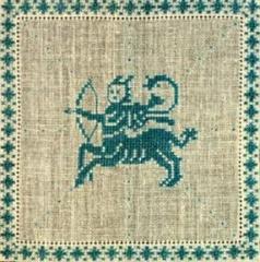 Stickpackung Haandarbejdets Fremme 17-2240,12 Sternzeichen Schütze 15x15